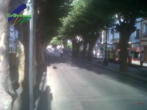 Avenida España de Ubrique.Foto:Jenu