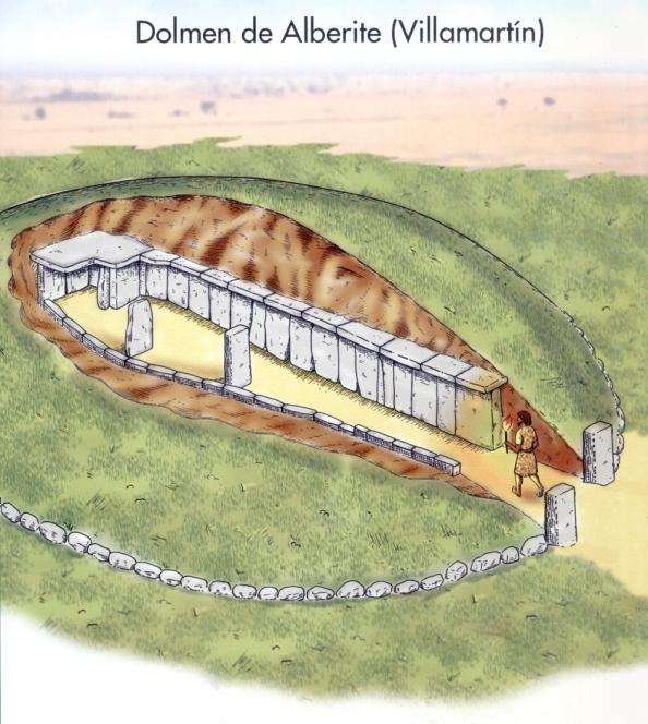 dolmen de Alberite. Villamartin.es