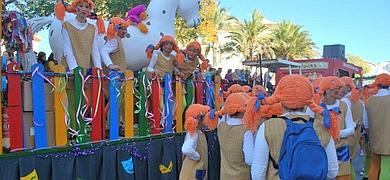 Cabalgata Carnaval de Arcos de la Frontera 2012. Fotos A. Romero. La Voz