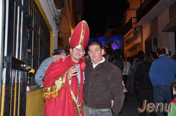 Quini, el Pregonero del Carnaval de Villamartín 2012 posando para ErDesvan.com