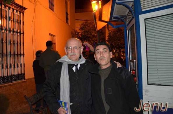 """Antonio Rico Segura, """"Pedro El Majara"""", con el que tuve el gusto de compartir carnaval. Foto Jenu"""