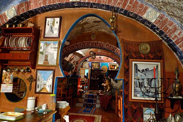 Restaurante Boabdil en Arcos de la Frontera, lugar donde tendrá lugar esta noche la conferencia sobre Rodrigo Ponce de León, a cargo de José María Pérez Gómez