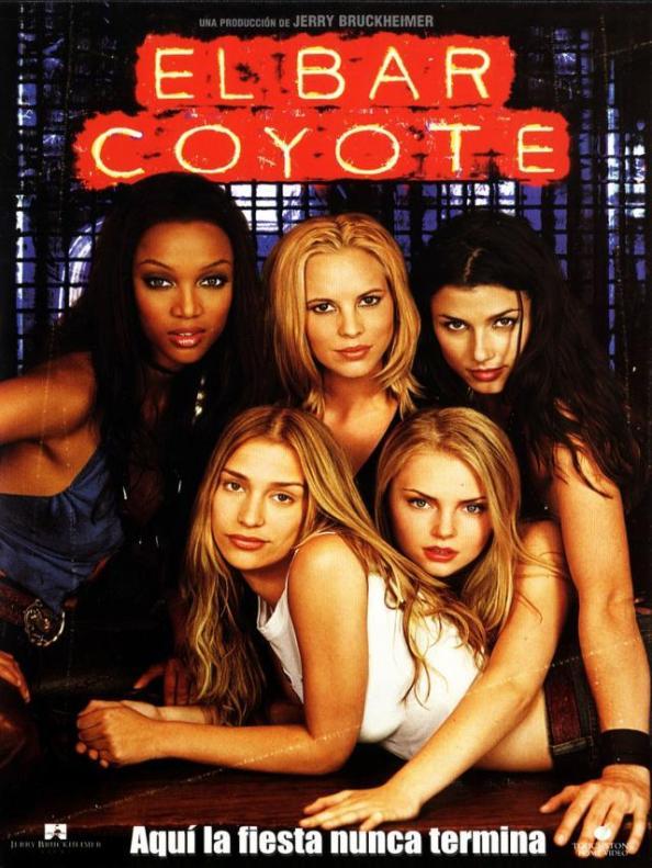 Bar Coyote. Cartel de la pelicula, una de las  más vistas por los adolescentes en su momento. Listas.20minutos.es