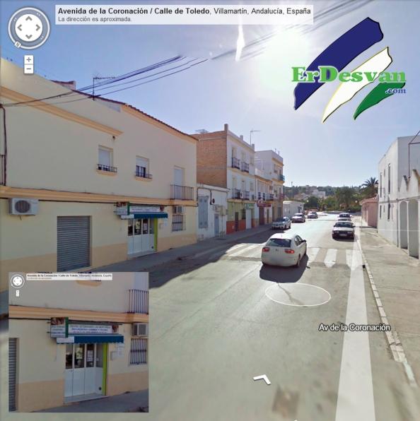 Centro veterinario victima de un intento de robo. Foto Google Maps