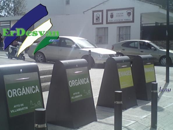Contenedores Soterrados Villamartín. Foto Jenu