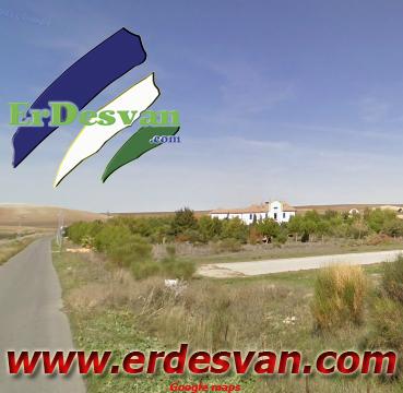 Carretera de Los higuerones, donde ocurrió el accidente. Erdesvan.com/Google maps