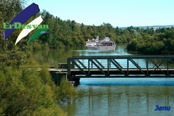 Panorama Puente de Los Hierros. Fotomontaje: Jenu