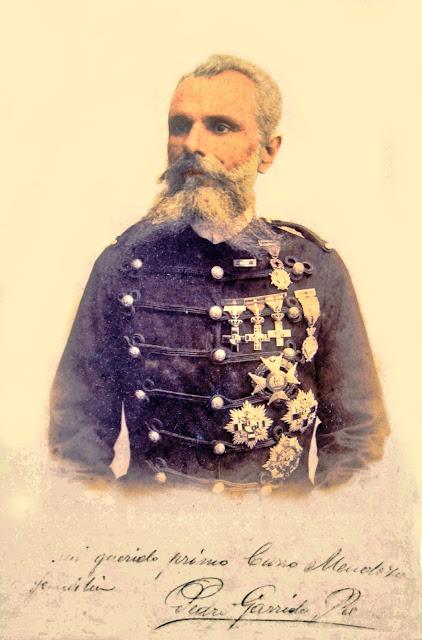 Don Pedro Garrido Romero Foto coloreada (Archivo familia Pérez Gómez)