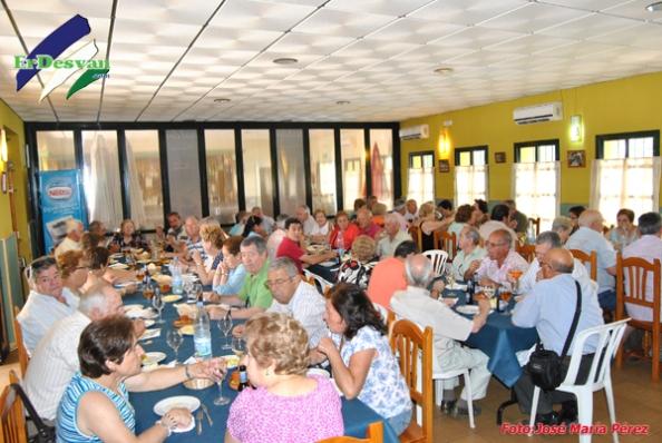 Nuestros visitantes de Antequera en el Restaurante La Piscina de Villamartín. ErDesvan.com