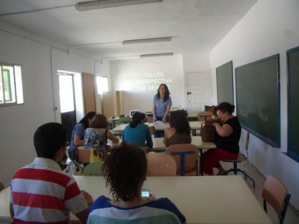 Taller. ErDesvan.com. Foto:Ayto.Villamartín