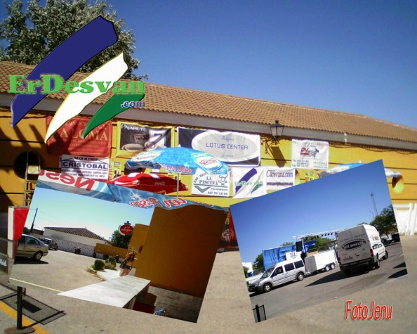 Todo preparado para el Segundo Concurso de Maquetas Villarock 2012. Foto realizada esta tarde en las instalaciones de la Piscina Municipal. Foto Jenu