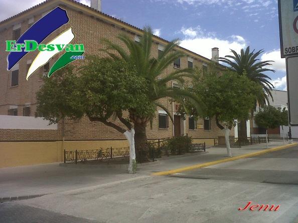 Cuartel de la Guardia Civil de Puerto Serrano. Foto: Jenu