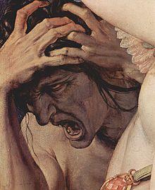 Agnolo Bronzino, Alegoría con Venus y Cupido (1540/45),
