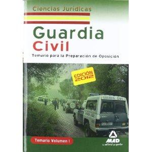 TEMARIO GUARDIA CIVIL. CIENCIAS JURIDICAS