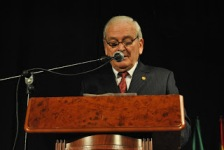 Jose Gallardo en su intervencion. Foto: Jose Maria Perez