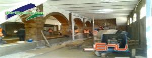 Asi de avanzadas van las obras de la Plaza de Abastos de Villamartìn. Foto  Jenu