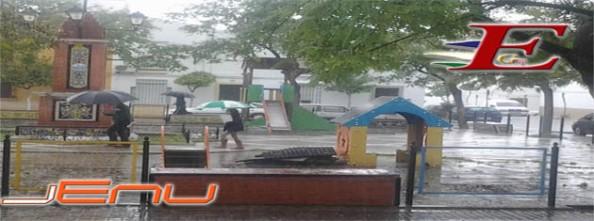 plazoleta lluvia