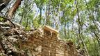 Esta imagen muestra un muro aún conservado en el sector sureste.