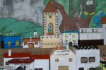 Maqueta de Villamartìn realizada por los alumnos del Centro. Foto Jenu