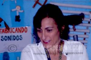 Olga Càceres, la Jefa de Estidios deja en Centro con dolor de su corazòn por traslado, tras muchos años trabajando en Nebrija. Foto Jenu